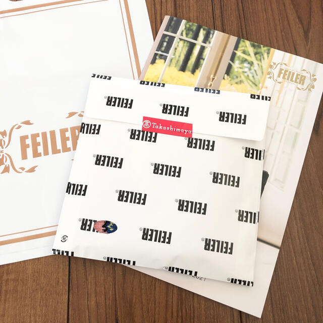 FEILER(フェイラー)のFEILER 新品ハンカチ レディースのファッション小物(ハンカチ)の商品写真