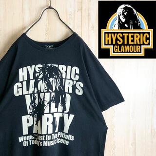 ヒステリックグラマー(HYSTERIC GLAMOUR)のhystericglamour ヒステリックグラマー Tシャツ デカロゴ XL(Tシャツ/カットソー(半袖/袖なし))