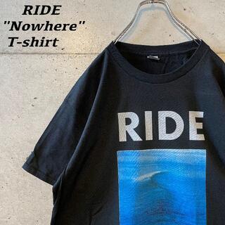 "RIDE ""nowhere"" tee バンドTシャツ シューゲイザー"