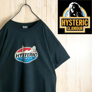 HYSTERIC GLAMOUR - hystericglamour ヒステリックグラマー Tシャツ デカロゴ 美品