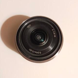 SONY - SEL16F28 Sony e-mount コンパクトな広角レンズ