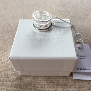 Maison Martin Margiela - S新品 メゾン マルジェラ 3連 リング シルバー 指輪 アクセサリー メンズ