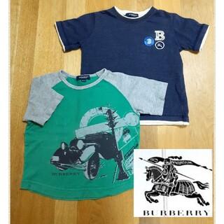 バーバリー(BURBERRY)の大人気◆バーバリー◆ 半袖Tシャツ2点セット◆100センチ(Tシャツ/カットソー)
