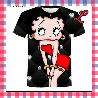 人気のベティ ブープ ビッグ 半袖 Tシャツ メンズ レディース ストリート系