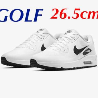 ナイキ(NIKE)の新品 ナイキ エアマックス90G ゴルフシューズ 26.5cm(シューズ)