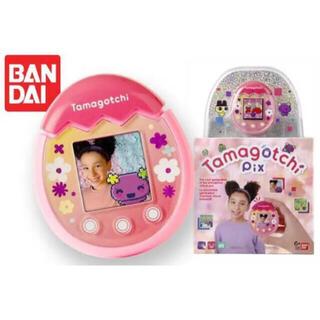 BANDAI - 【即納】tamagotchi pix たまごっち (フローラル ピンク)
