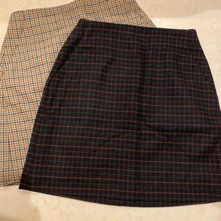 ユニクロ(UNIQLO)の新品未使用スカート2点セット(ミニスカート)