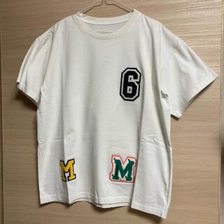 Maison Martin Margiela - 【新品】MM6 メゾンマルジェラ ワッペン オーバーサイズ Tシャツ