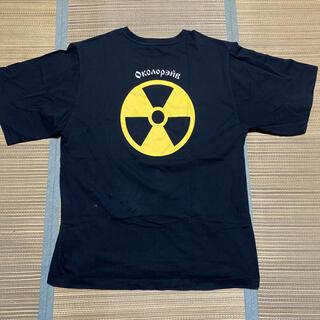 ラフシモンズ(RAF SIMONS)のGosha Rubchinskiy Rave Oversized tシャツ L(Tシャツ/カットソー(半袖/袖なし))
