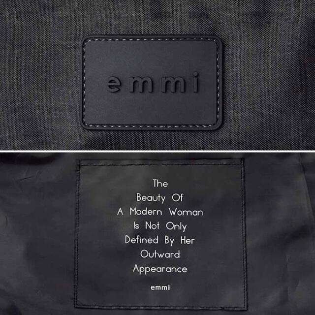 【新品】emmi アクティブトートバッグ ブラック レディースのバッグ(トートバッグ)の商品写真