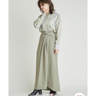FRAY I.D - フレイアイディー タグ付き ツイストデザインスカート