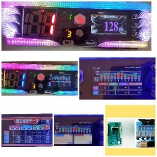 送込☆液晶スランプグラフ表示☆パチスロ用データカウンター☆ブレイドX☆家庭用電源(パチンコ/パチスロ)