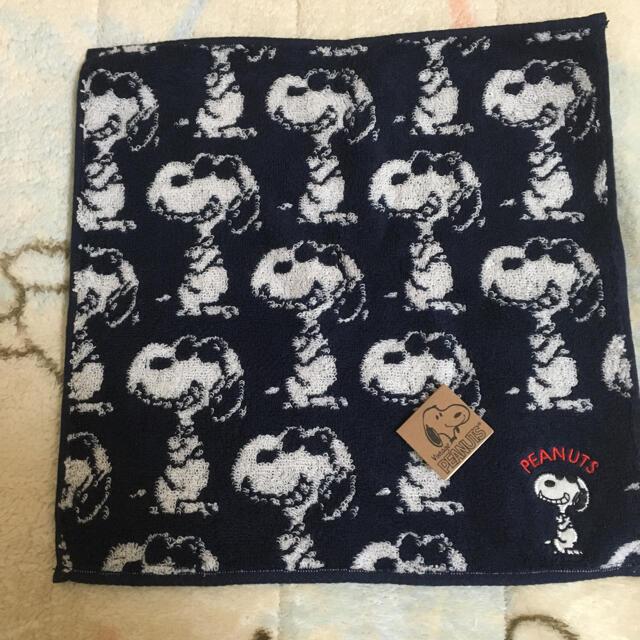 PEANUTS(ピーナッツ)のスヌーピー タオルハンカチ♡ レディースのファッション小物(ハンカチ)の商品写真