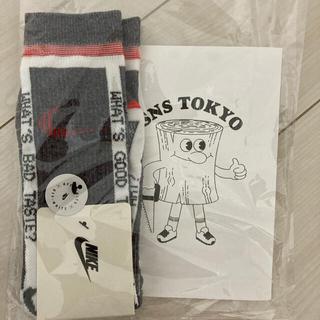 """オフホワイト(OFF-WHITE)のOFF-WHITE / Nike Socks """"Grey"""" XL 27〜29㎝(スニーカー)"""