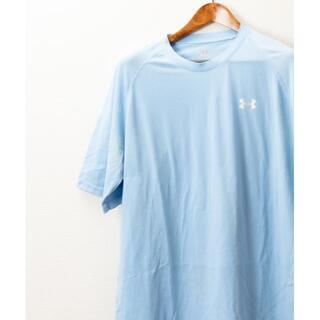 アンダーアーマー(UNDER ARMOUR)のUNDER ARMOUR アンダーアーマー Tシャツ 水色(Tシャツ/カットソー(半袖/袖なし))