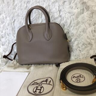 Hermes - 美品 HERMES ミニボリード1923 グリアスファルト
