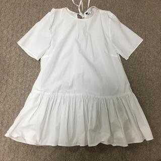 ZARA - ザラ ポプリン tシャツ