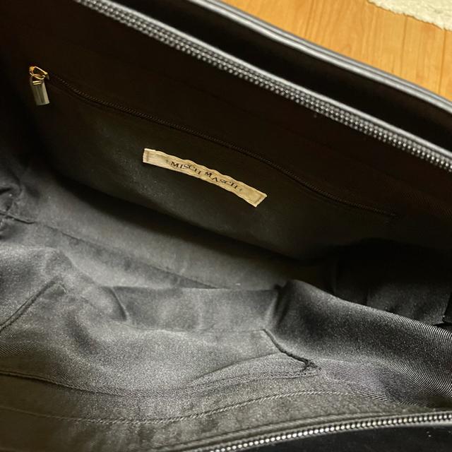 MISCH MASCH サイドフリルリボントートバッグ レディースのバッグ(トートバッグ)の商品写真