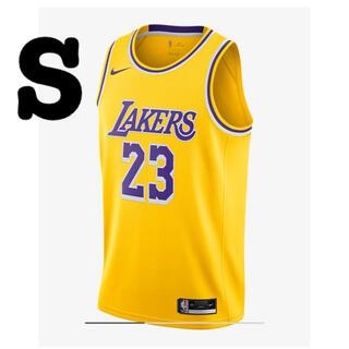 ナイキ(NIKE)の【新品未使用】NBA レイカーズ レブロンジェームズ ユニフォーム US S(バスケットボール)