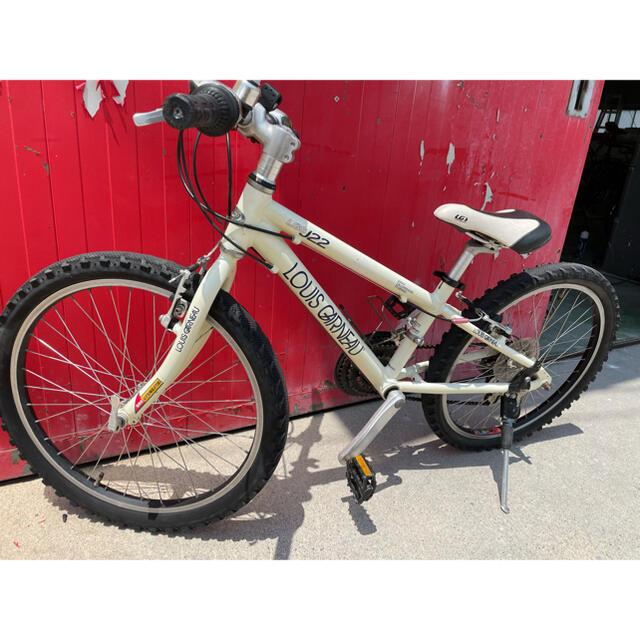 LOUIS GARNEAU(ルイガノ)のルイガノ j22 キッズ自転車 22インチ マウンテンバイク 送料込み スポーツ/アウトドアの自転車(自転車本体)の商品写真
