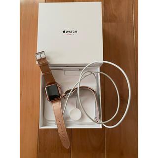 アップルウォッチ(Apple Watch)のアップルウォッチ series3 38mm セルラーモデル(その他)