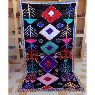 イデー(IDEE)の新品未使用 Moroccan boucherouite rug ポシャルウィット(ラグ)