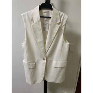 H&M - H&M ノースリーブジャケット Sサイズ