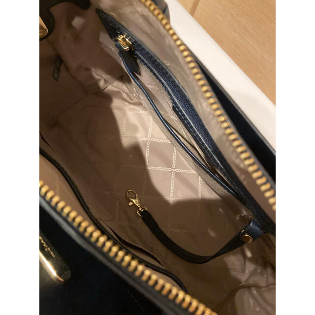 Michael Kors(マイケルコース)のマイケルコースバック  ハンドバック MKシグネチャー ブルー レディースのバッグ(ショルダーバッグ)の商品写真