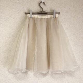 クチュールブローチ(Couture Brooch)の● クチュールブローチ 可愛いチュールスカート ㈱ワールド●(ひざ丈スカート)