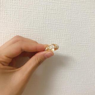 クリスチャンディオール 指輪 パール付きリング