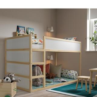 イケア(IKEA)の7月 SALE!IKEAベッド 美品!!(ベビーベッド)