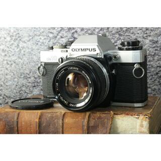 OLYMPUS - 【整備済み】Olympus OM10 / F.ZUIKO 50mm F1.8