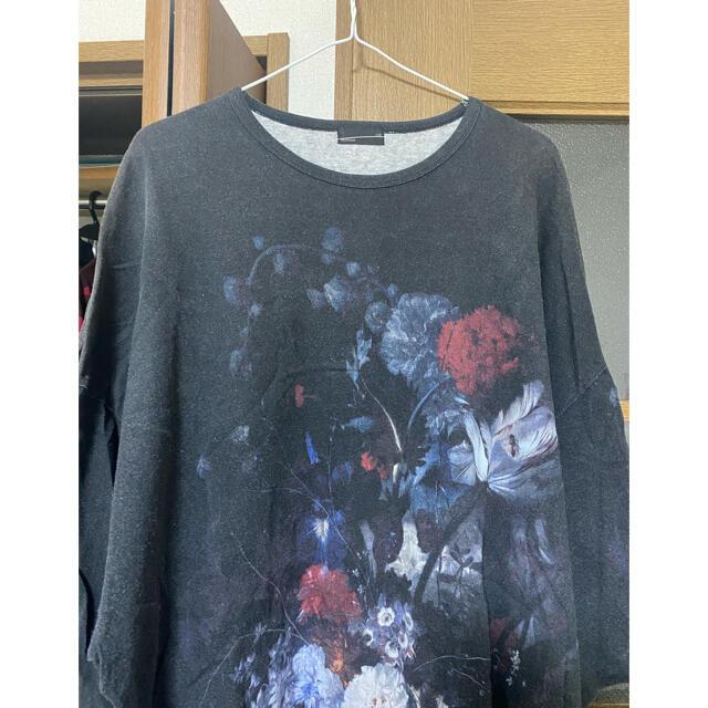 LAD MUSICIAN(ラッドミュージシャン)のladmusician 花柄ビッグTシャツ メンズのトップス(Tシャツ/カットソー(半袖/袖なし))の商品写真
