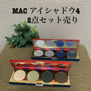 マック(MAC)のMAC ワンダーウーマン コラボ アイシャドウ4 セット売り(アイシャドウ)
