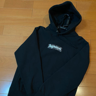 Supreme - Supreme Bandana Box Logo Hooded M パーカー