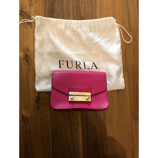 フルラ(Furla)のFURLA フルラ ほぼ未使用 メトロポリス チェーンショルダーバッグ(ショルダーバッグ)