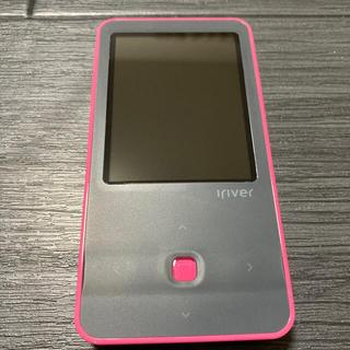 アイリバー(iriver)のiriver アイリバー E300 ピンク ポータブルデジタルプレーヤー(ポータブルプレーヤー)