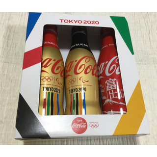コカ・コーラ - オリンピックコカコーラスリムボトル3本パック 東京オリンピック、静岡県、富士山