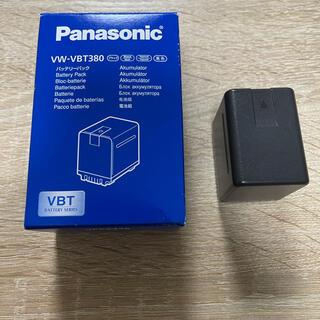 パナソニック(Panasonic)のPanasonic VW-VBT380(バッテリー/充電器)