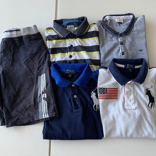 ラルフローレン(Ralph Lauren)のラルフ アルマーニ ポロシャツハーフパンツ5点セット(Tシャツ/カットソー)