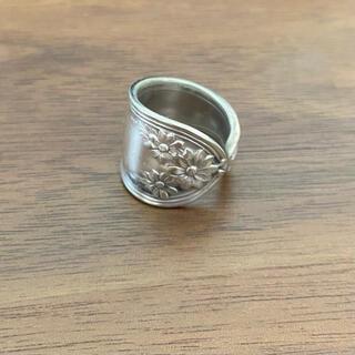 ロキエ(Lochie)の最終お値下げ中!vintage 指輪 シルバー スプーンリング(リング(指輪))