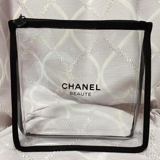 CHANEL(シャネル)のCHANEL ノベルティ クリアポーチ【非売品】   レディースのファッション小物(ポーチ)の商品写真