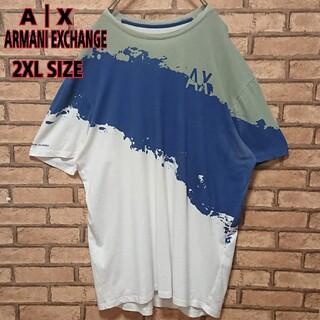 アルマーニエクスチェンジ(ARMANI EXCHANGE)のA X ARMANI EXCHANGE 半袖 プリント オーバーサイズ Tシャツ(Tシャツ/カットソー(半袖/袖なし))