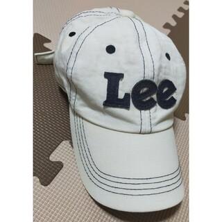 Lee - ☆Lee キャップ 白 フリーサイズ