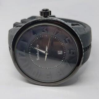 テンデンス(Tendence)の【正規品】TENDENCE テンデンス ラウンド ガリバー ブラック 腕時計(腕時計(アナログ))