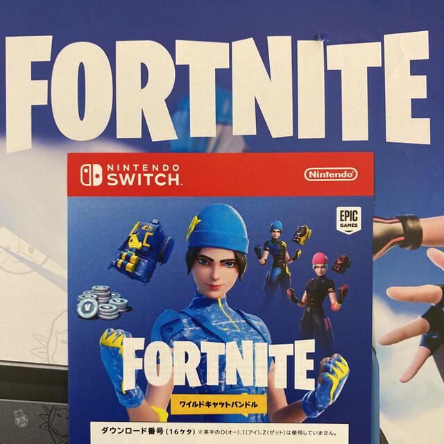 Nintendo Switch(ニンテンドースイッチ)の任天堂 Switch★ワイルドキャットバンドル 特典コード★ エンタメ/ホビーのゲームソフト/ゲーム機本体(家庭用ゲームソフト)の商品写真