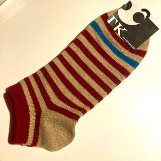 タケオキクチ(TAKEO KIKUCHI)のTK 靴下 ボーダー(ソックス)