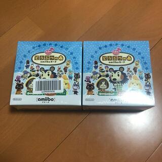ニンテンドウ(任天堂)の新品2BOX どうぶつの森 amiiboカード 第3弾  シュリンク付き(Box/デッキ/パック)
