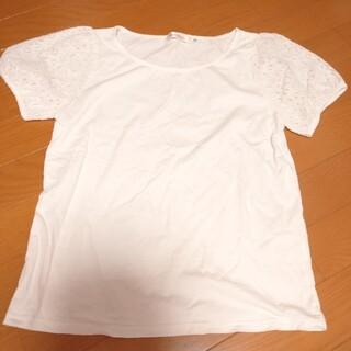 クチュールブローチ(Couture Brooch)の未使用 クチュールブローチ レース Tシャツ カットソー スーツ 38(カットソー(半袖/袖なし))