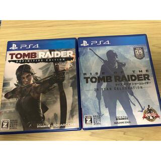 PS4 トゥームレイダー 2本セット